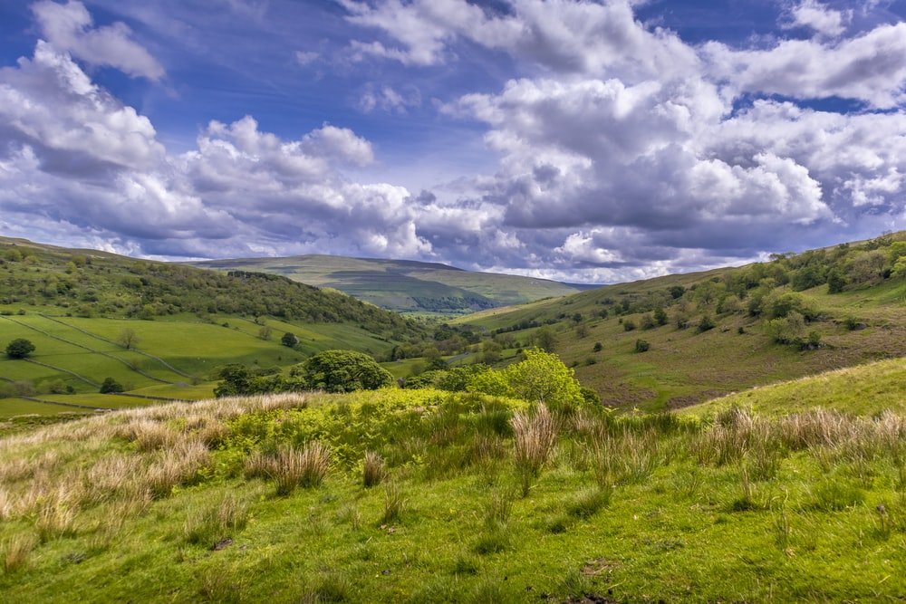 Yorkshire Dales for a visit in England countryside