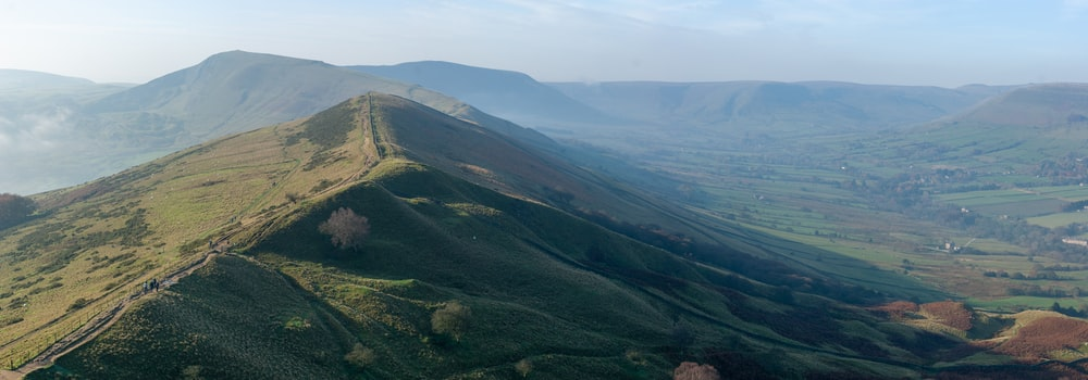 Mam Tor wild mountains and countryside