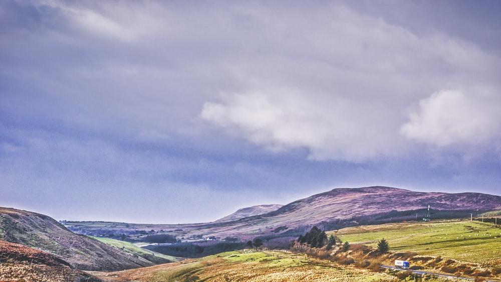 The Sperrins wild sites in Ireland and Wales