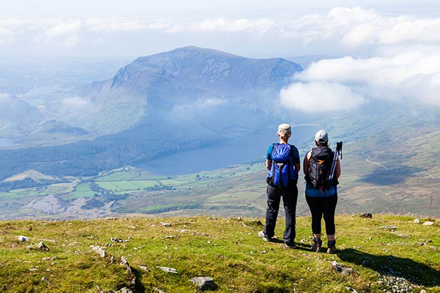National 3 Peaks Challenge - Snowdon Wales