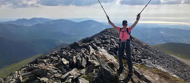 Woman reaches summit of Ben Nevis peak