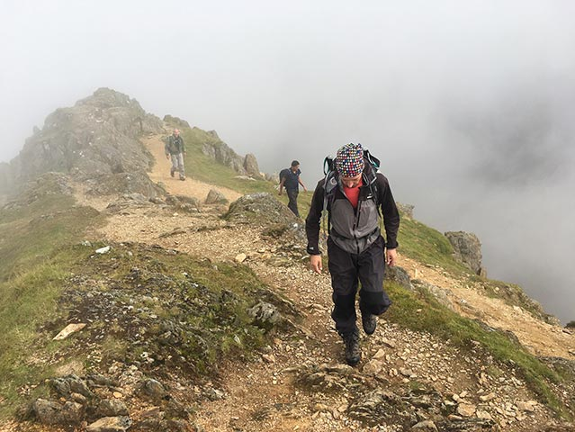 Ben Nevis Peak Ascent, National 3 Peaks Challenge hiking trail