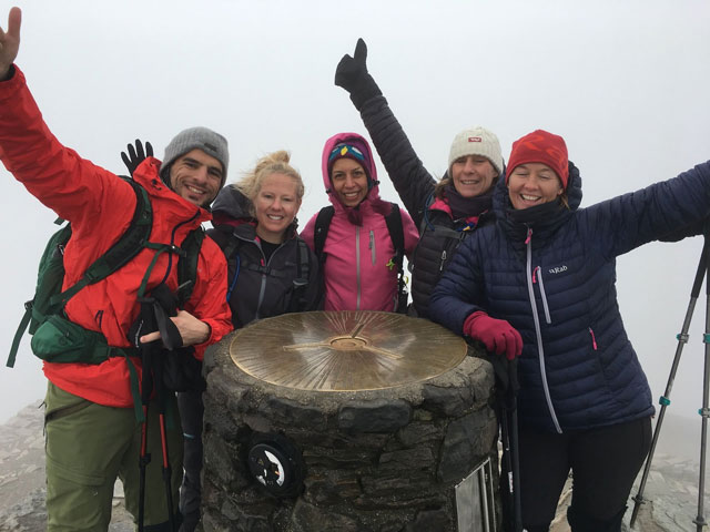 Ben Nevis group hike