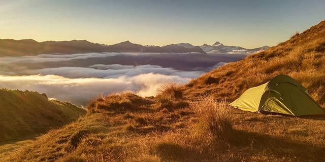 Wild Camping onMountain