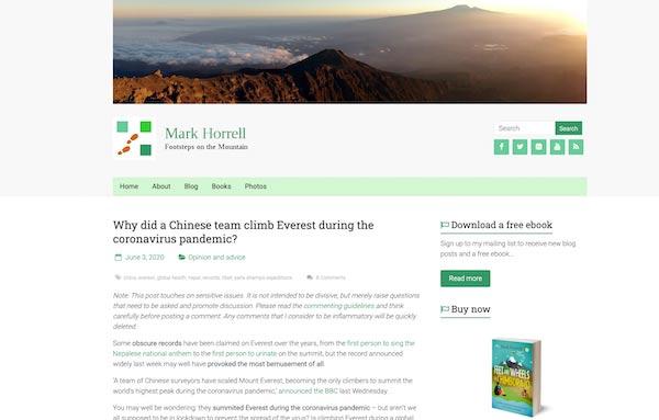 Mark Horrell blog