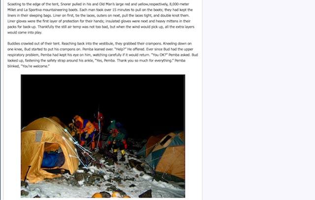 Alan Arnette climbing blog