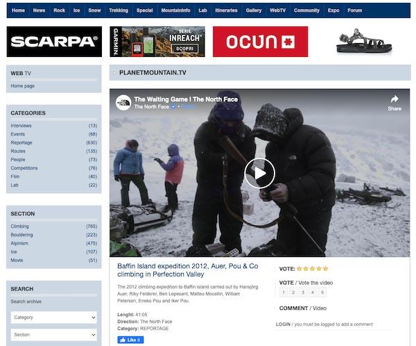 planet mountain mountaineering blog