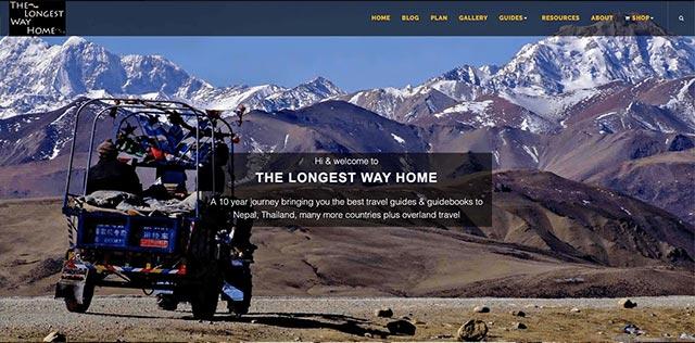 The longest way home blog