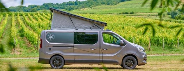 Karmann Danny campervan with raised roof