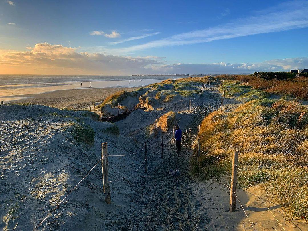 Sandy Beach Uk West Wittering