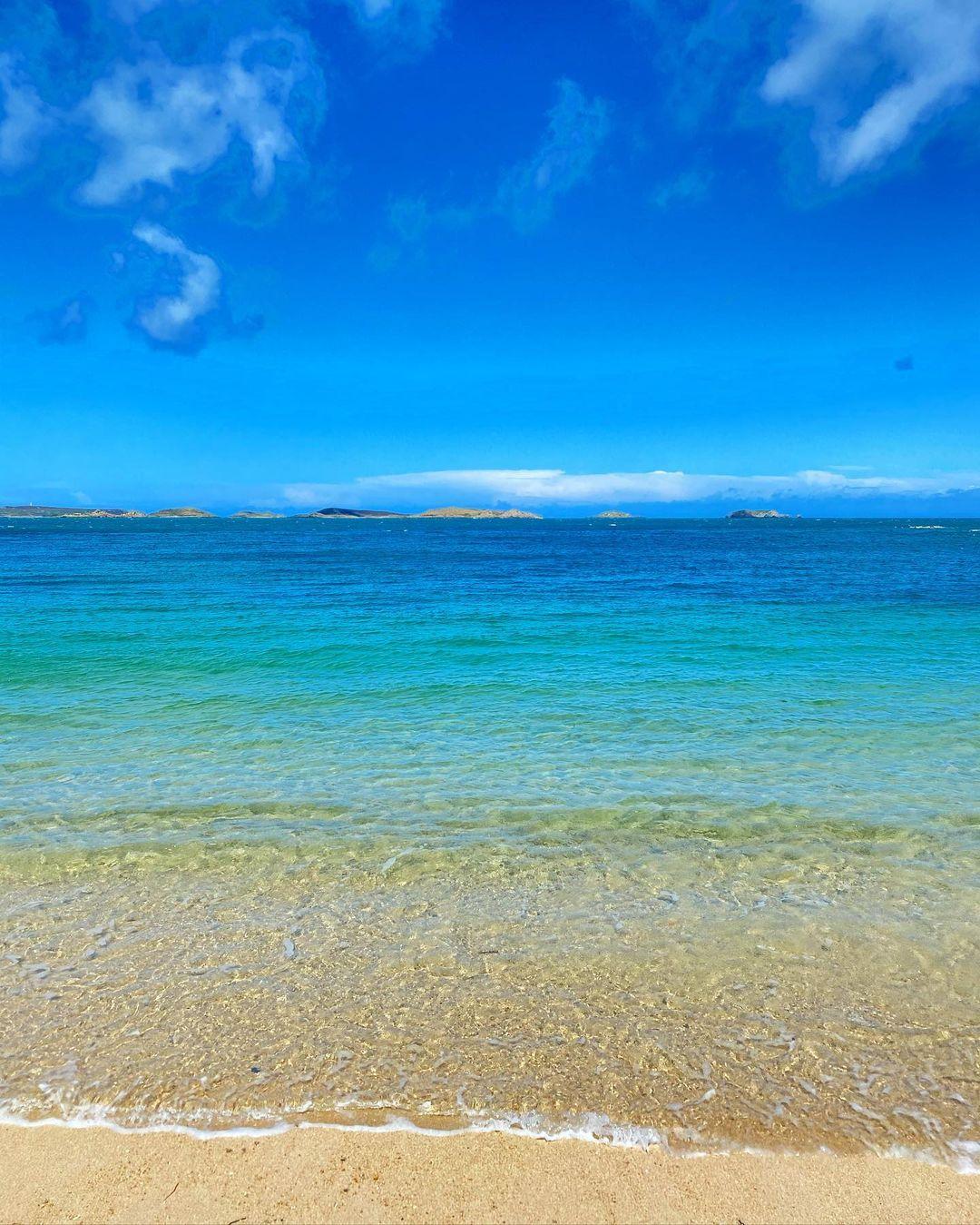 Isles of Scilly British Beach