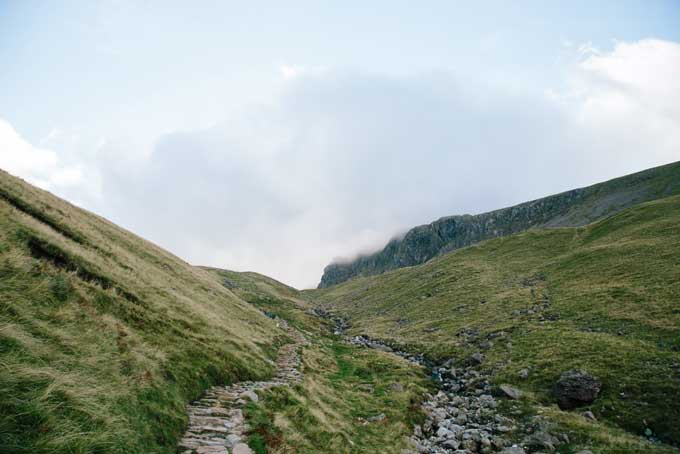 Lake District's National Park Beatrix Potter and fell walking