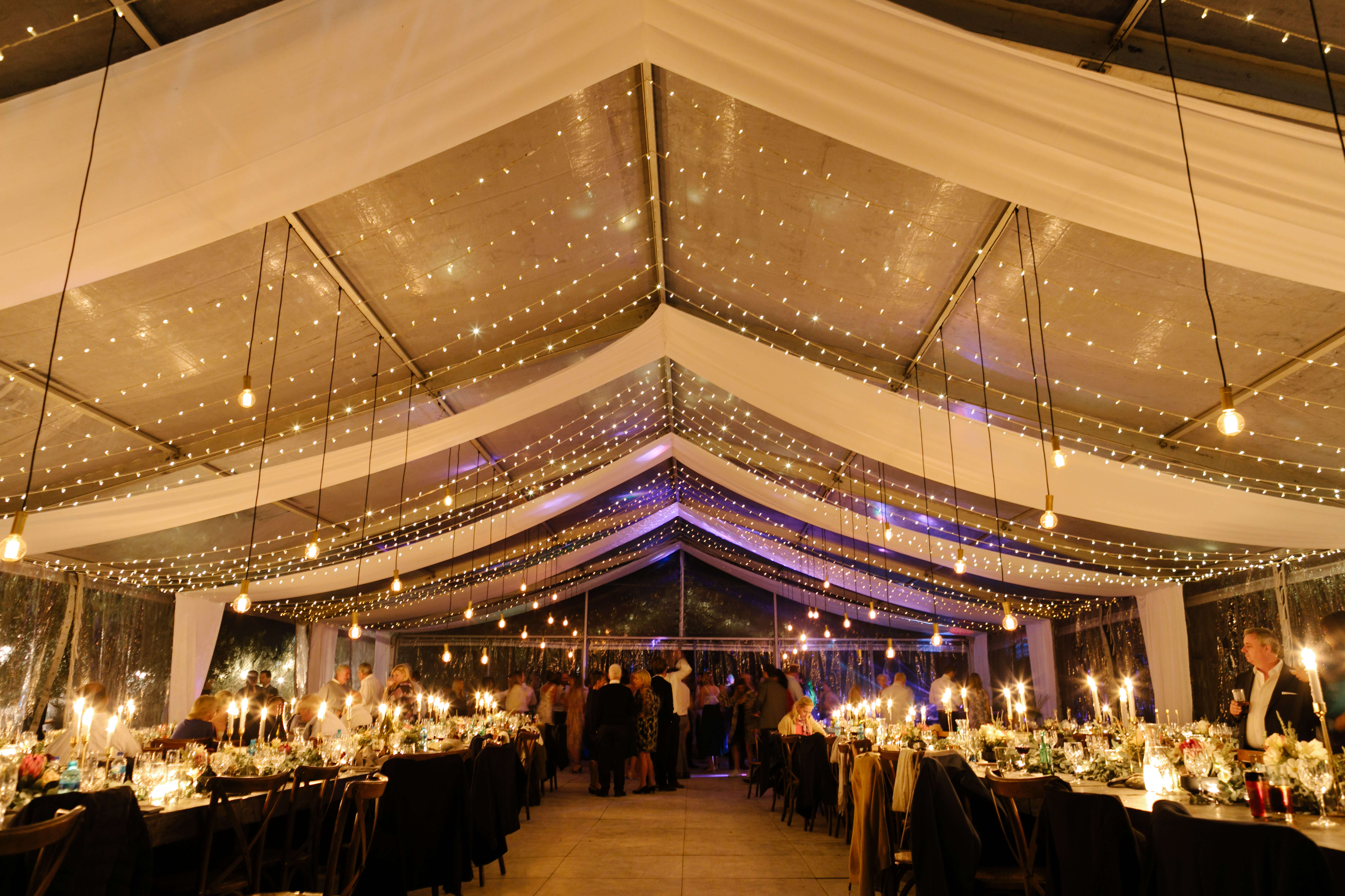 An exquisite wedding venue filled with great people.
