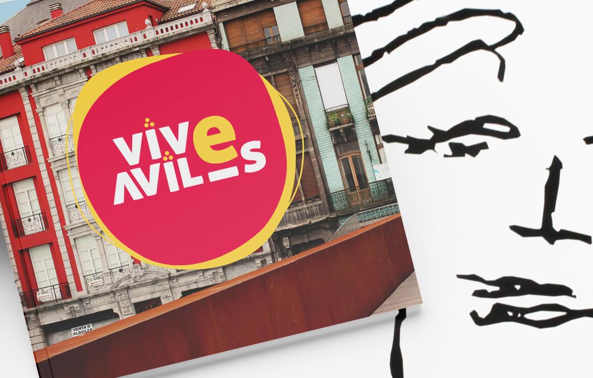 Brandin e identidad de marca Vive Avilés