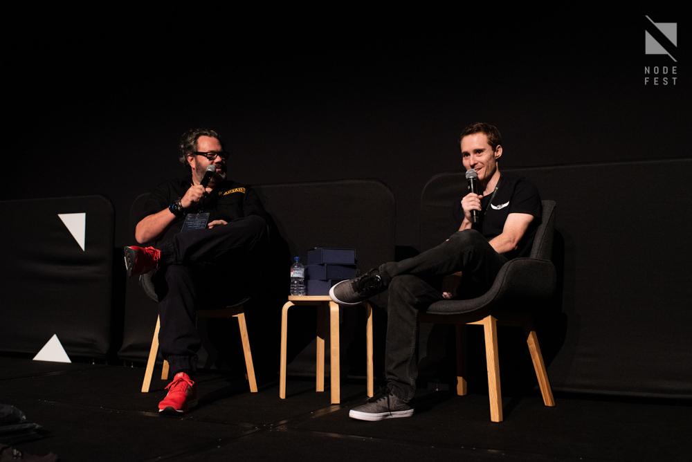 James Cowen talks to Ben Watts at Nodefest