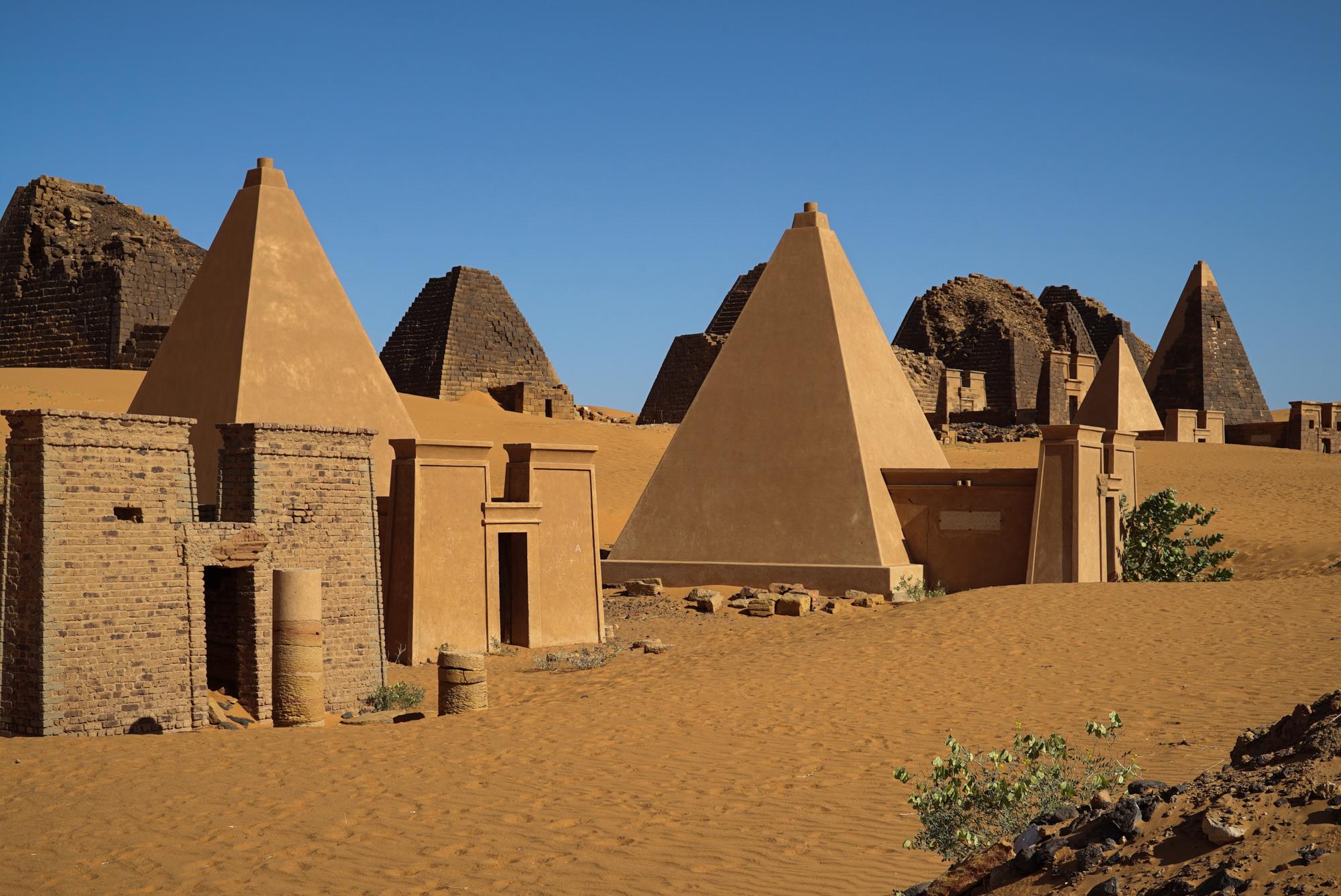 Nubian Pyramids of Meroë, SUDAN