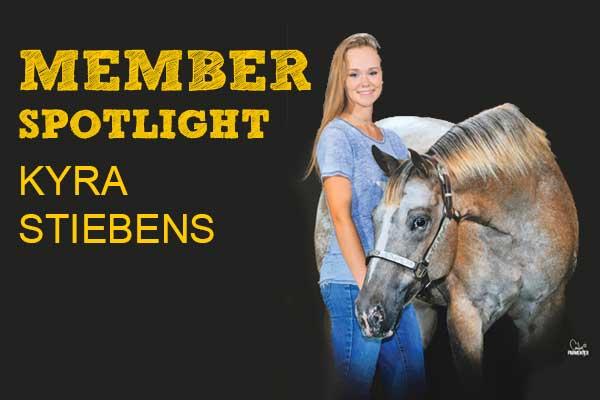 Member Spotlight: Kyra Stiebens