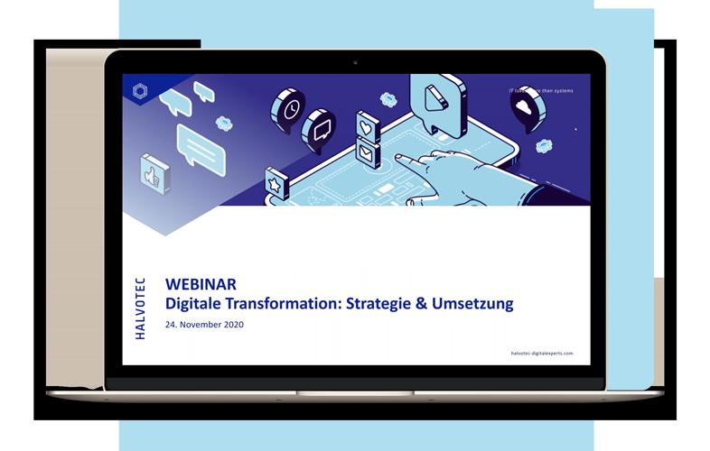 Webinar Aufzeichnung Digitale Transformation