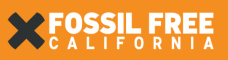 fossil free California logo