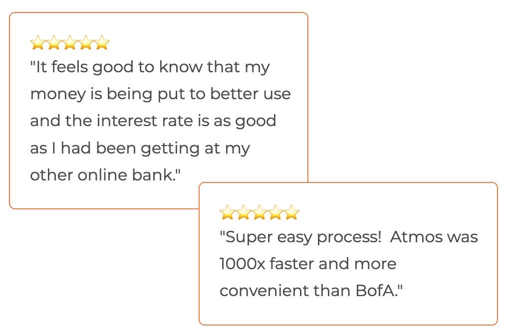 image of customer testimonials