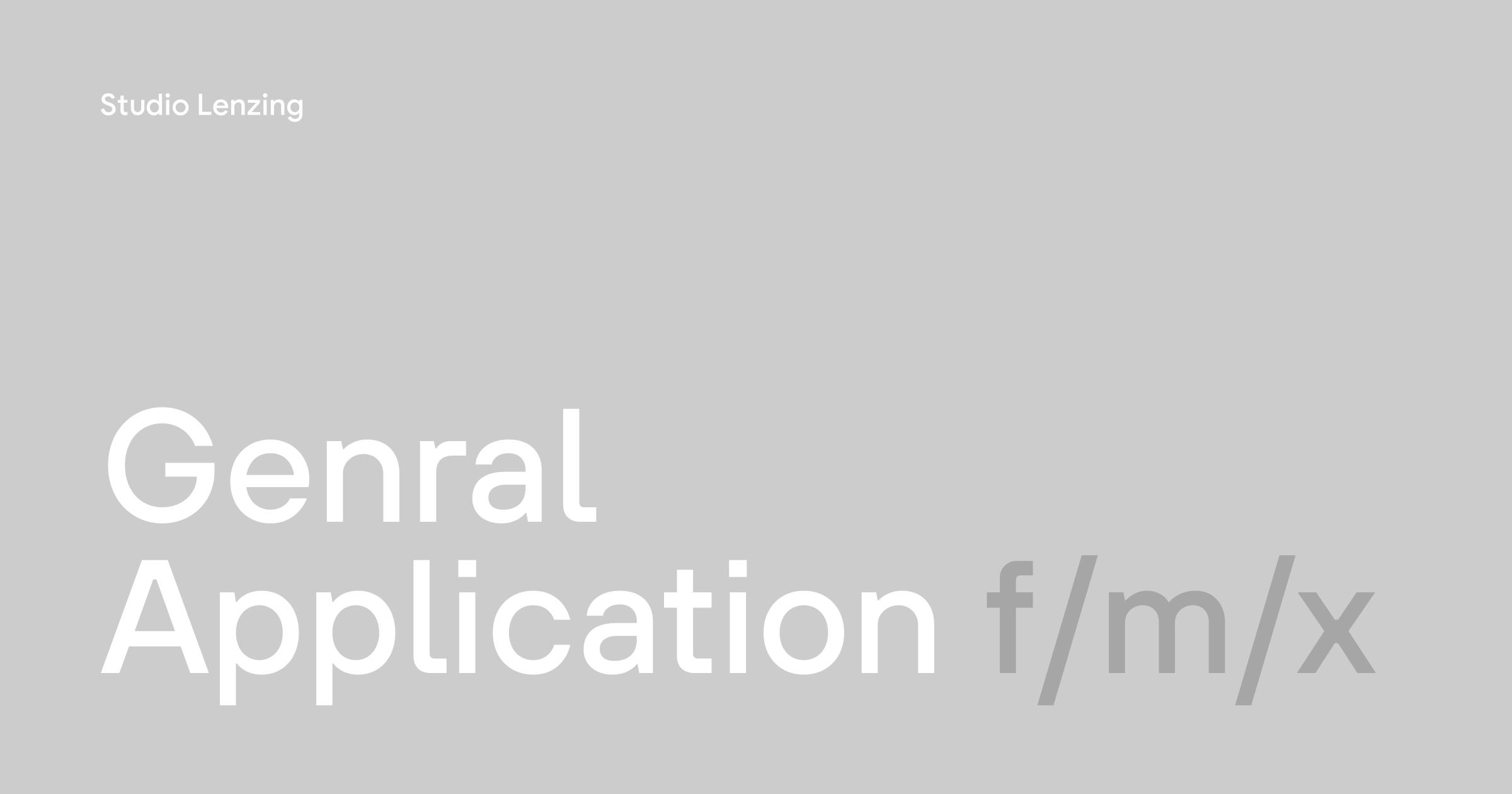 General Application