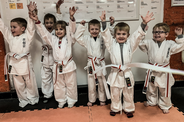 Kids karate classes in Wincanton