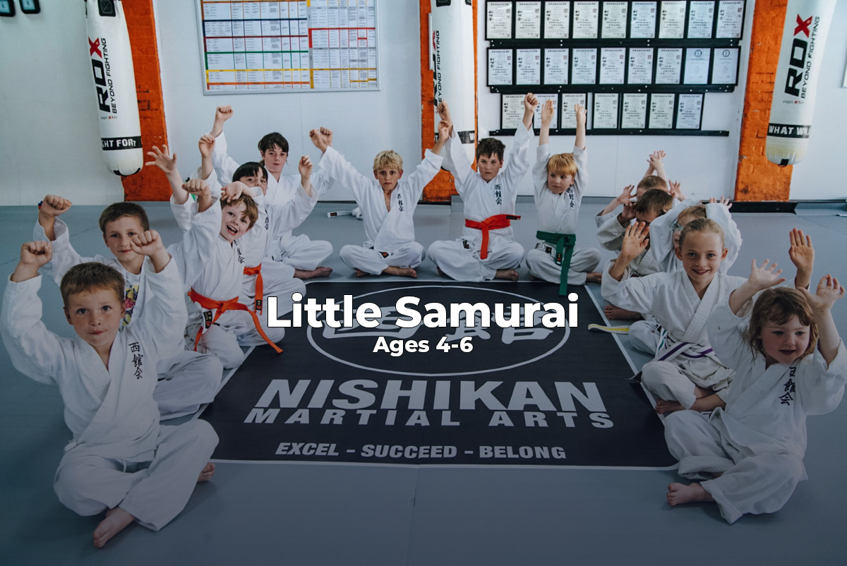 Nishikan Martial Arts, NMA, Childrens Martial Arts Classes, Ages 4-6