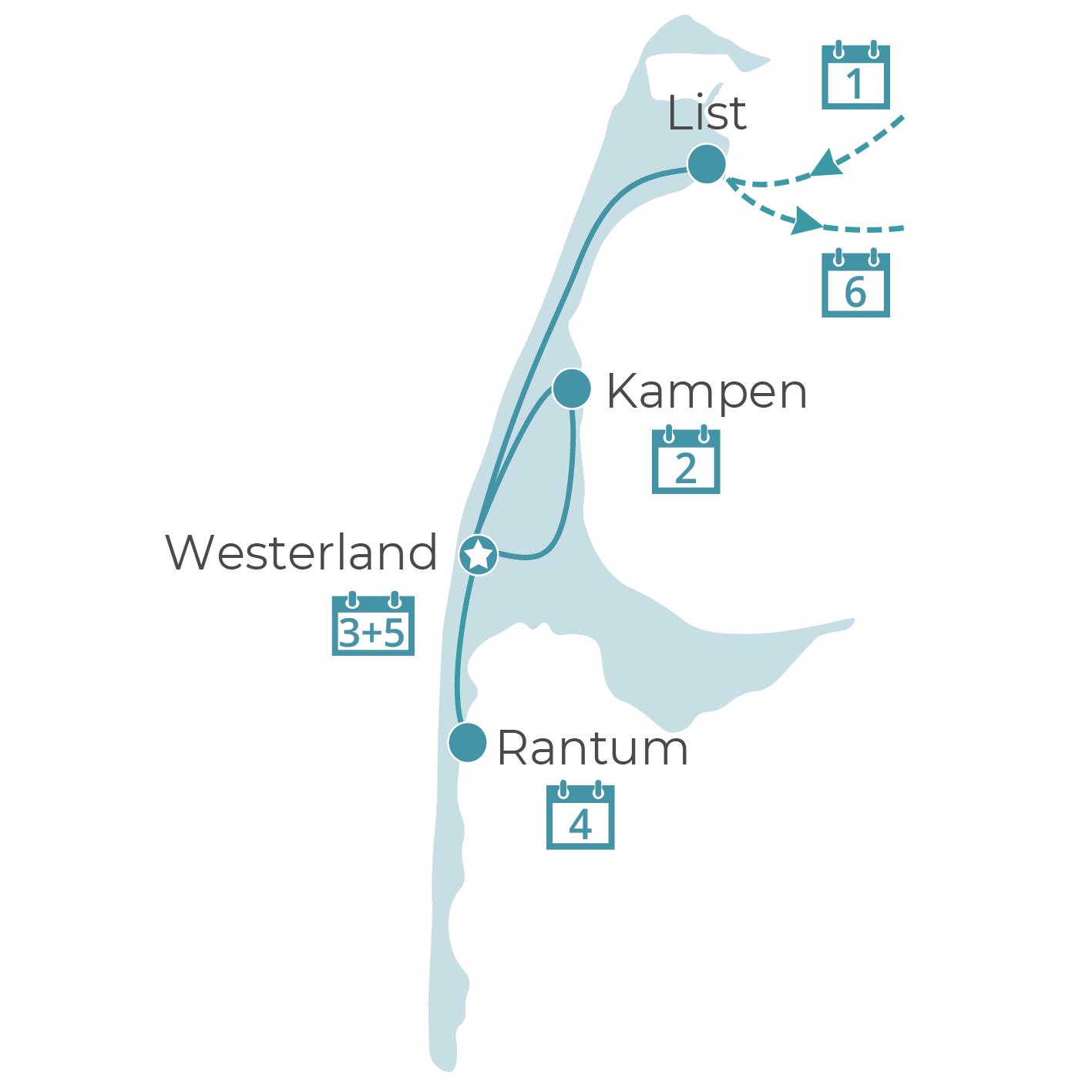 Luxusflair im Wattenmeer