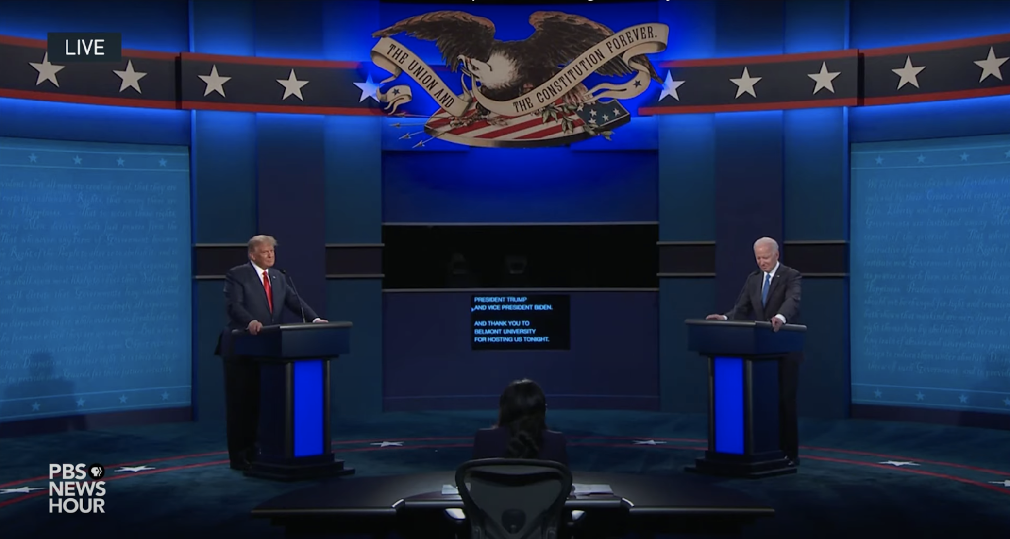 AI analysis of US Presidential debates shows democracy wins, at last