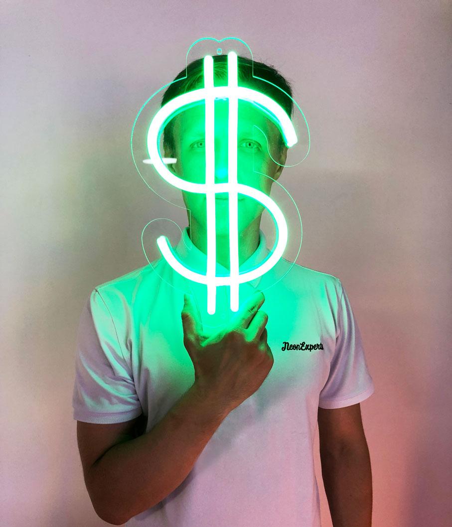 dollar neon