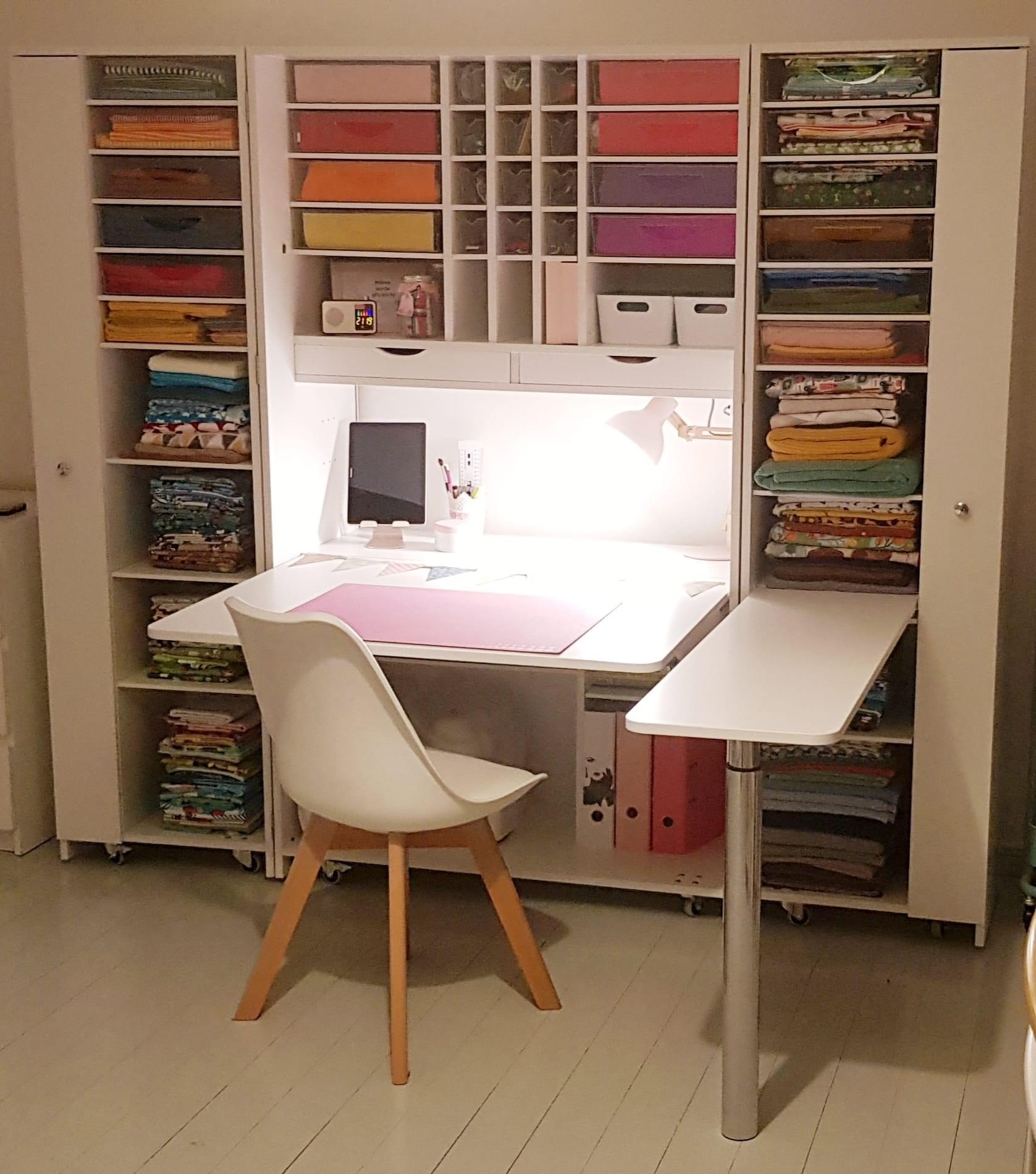 BrandBox Craft mit Seitentisch