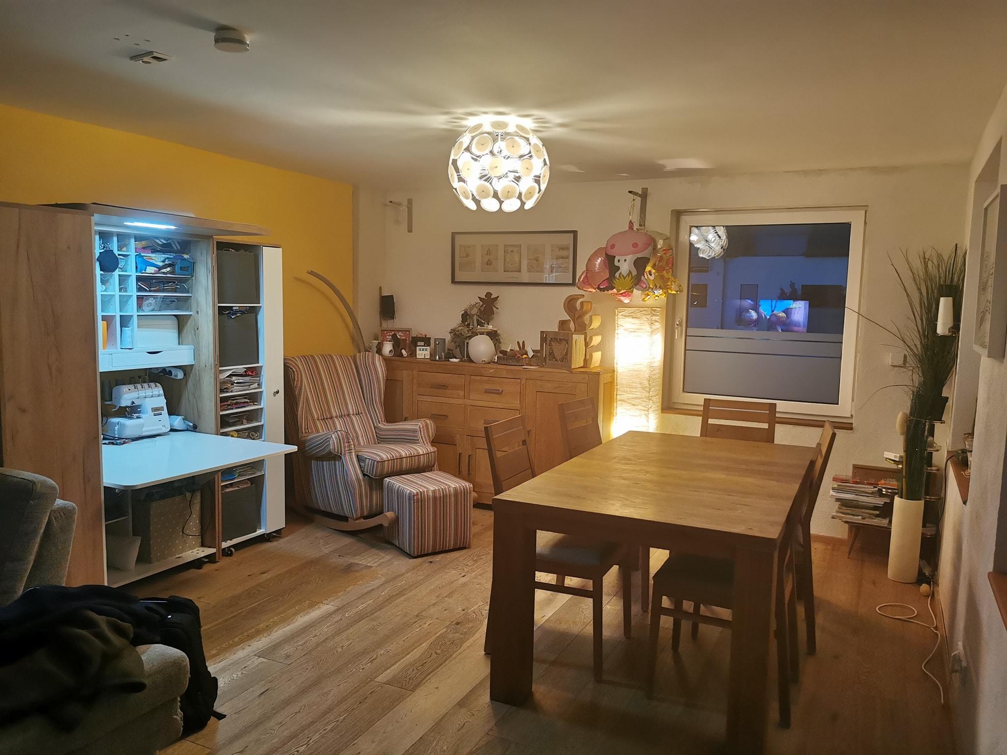 Gold Craft Oak im Wohnzimmer 🧡