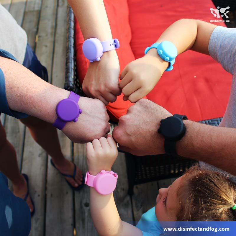 hand sanitizer bracelets