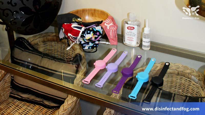 sanitizer wrist band
