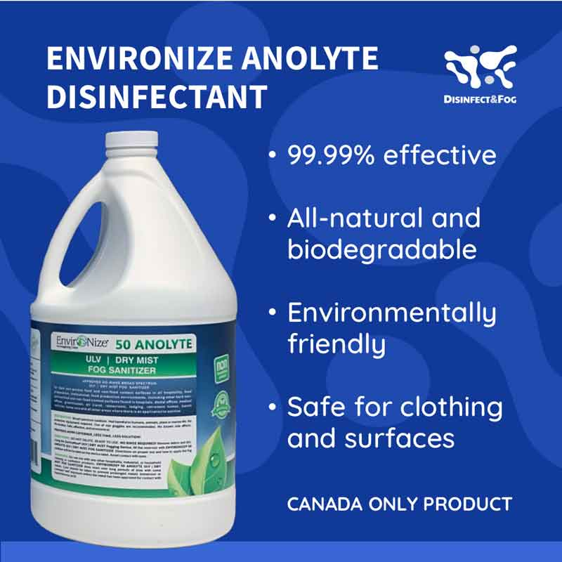type of disinfectant