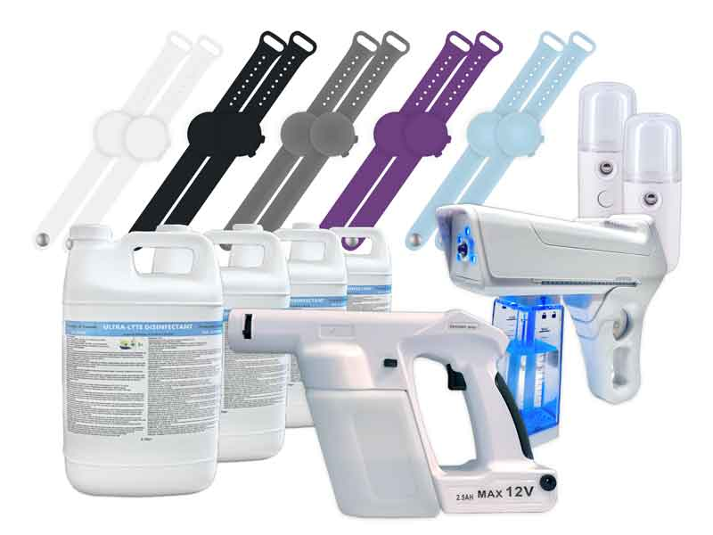 image of commercial disinfecting kit
