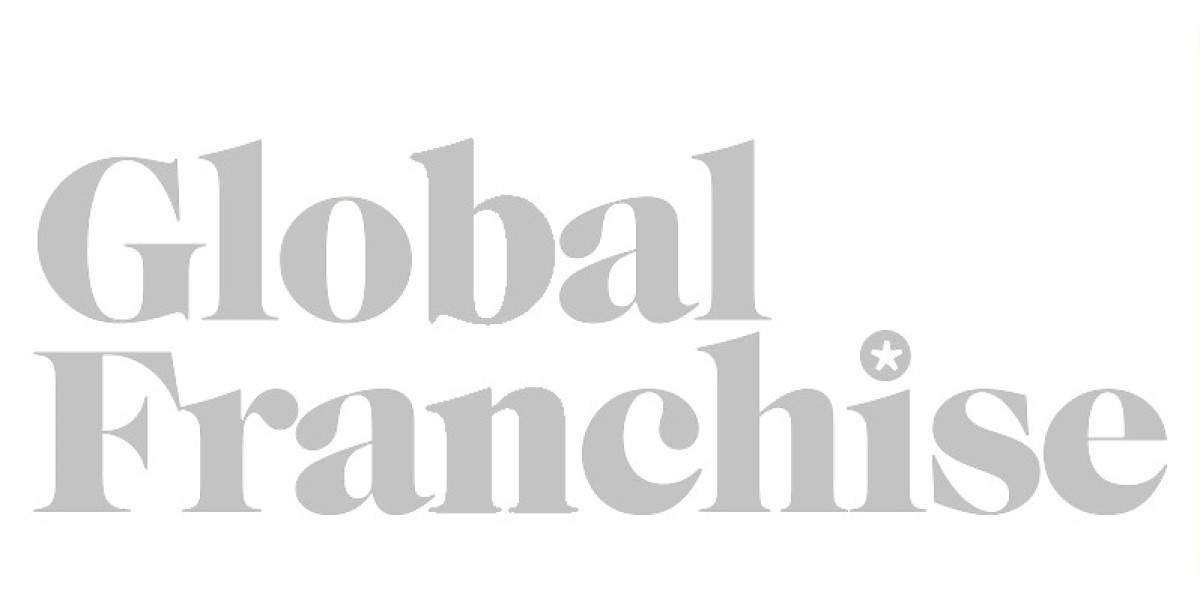 The Global Franchise logo in greyscale