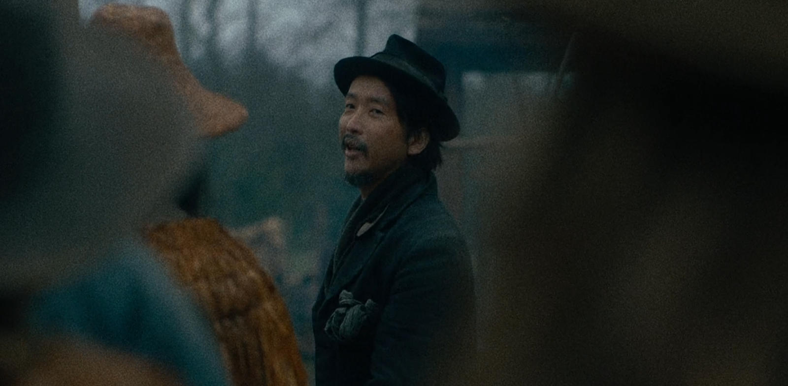 "Orion Lee as King-Lu in Kelly Reichardt's film ""First Cow"""