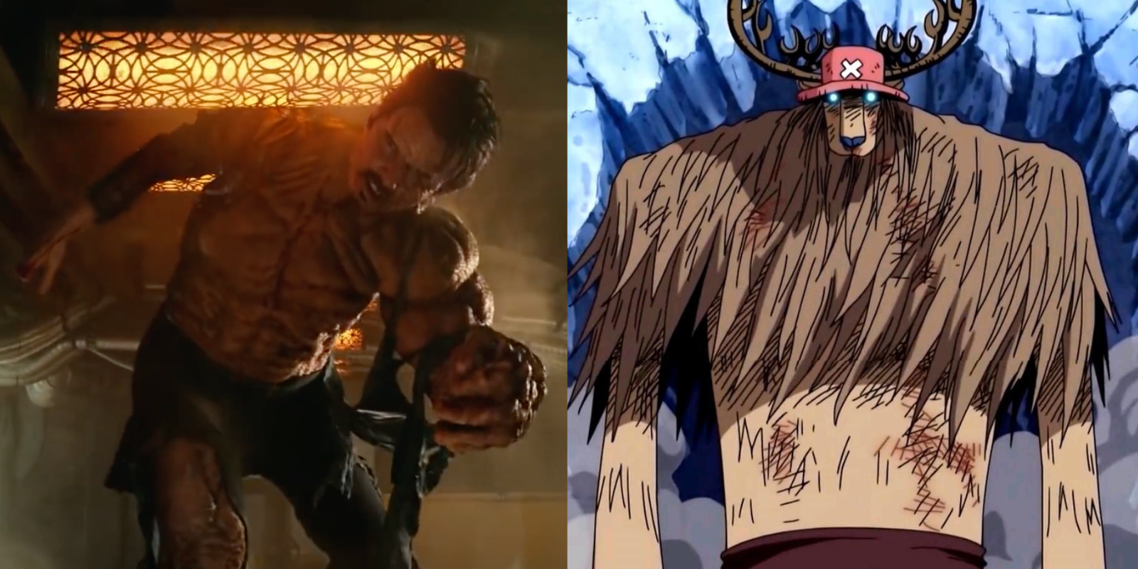Rodrigo Santoro in Project Power and Tony Tony Chopper in One Piece