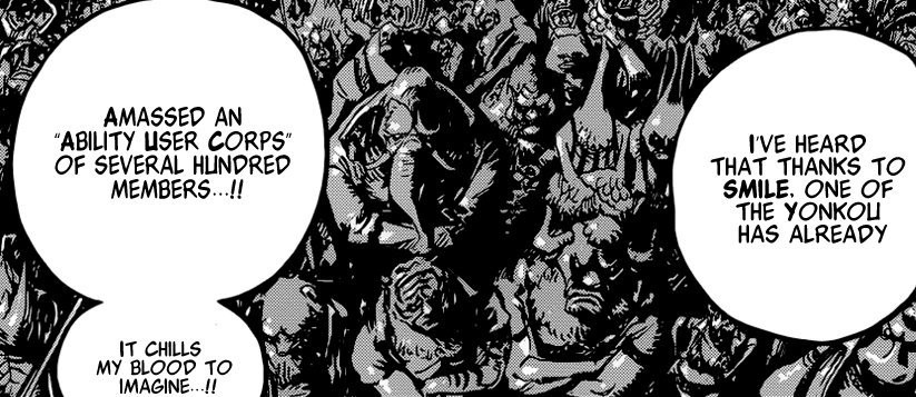 Artificial Devil Fruit users in One Piece
