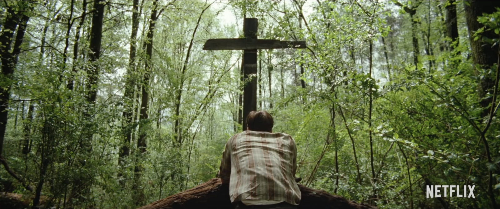Ben Skarsgard in Netflix's The Devil All the Time