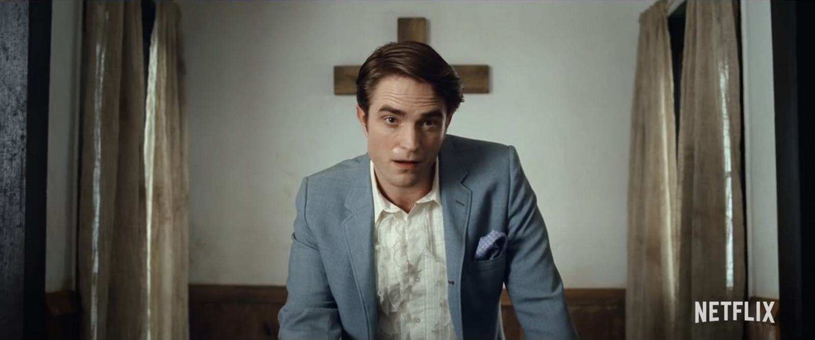 Robert Pattinson in Netflix's The Devil All the Time