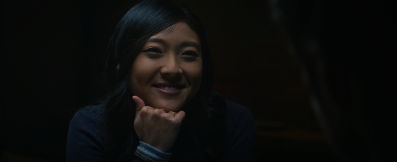 Miki Ishikawa as Leah in Marvel's Falcon and the Winter Soldier