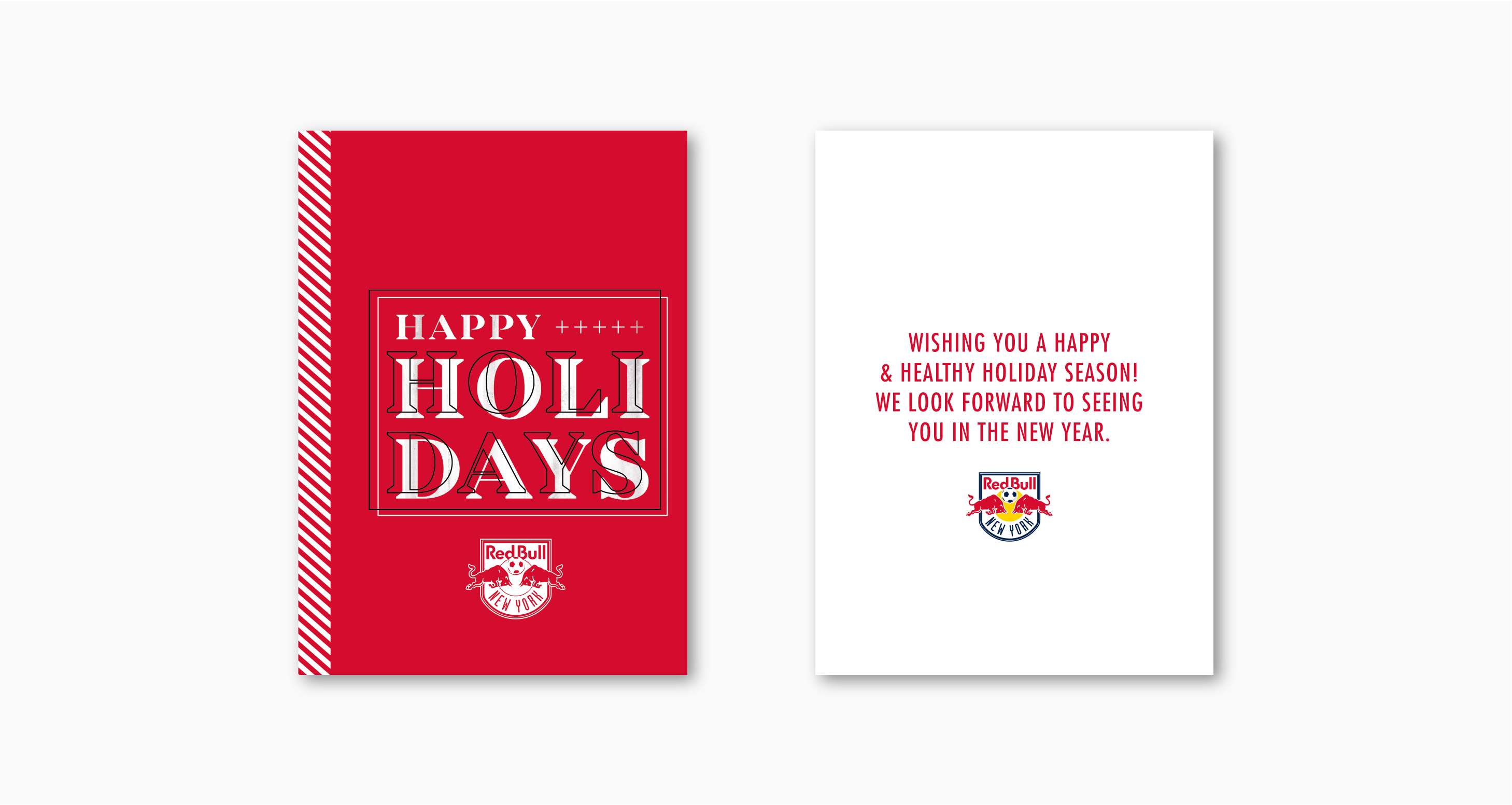 New York Red Bull Holiday Card