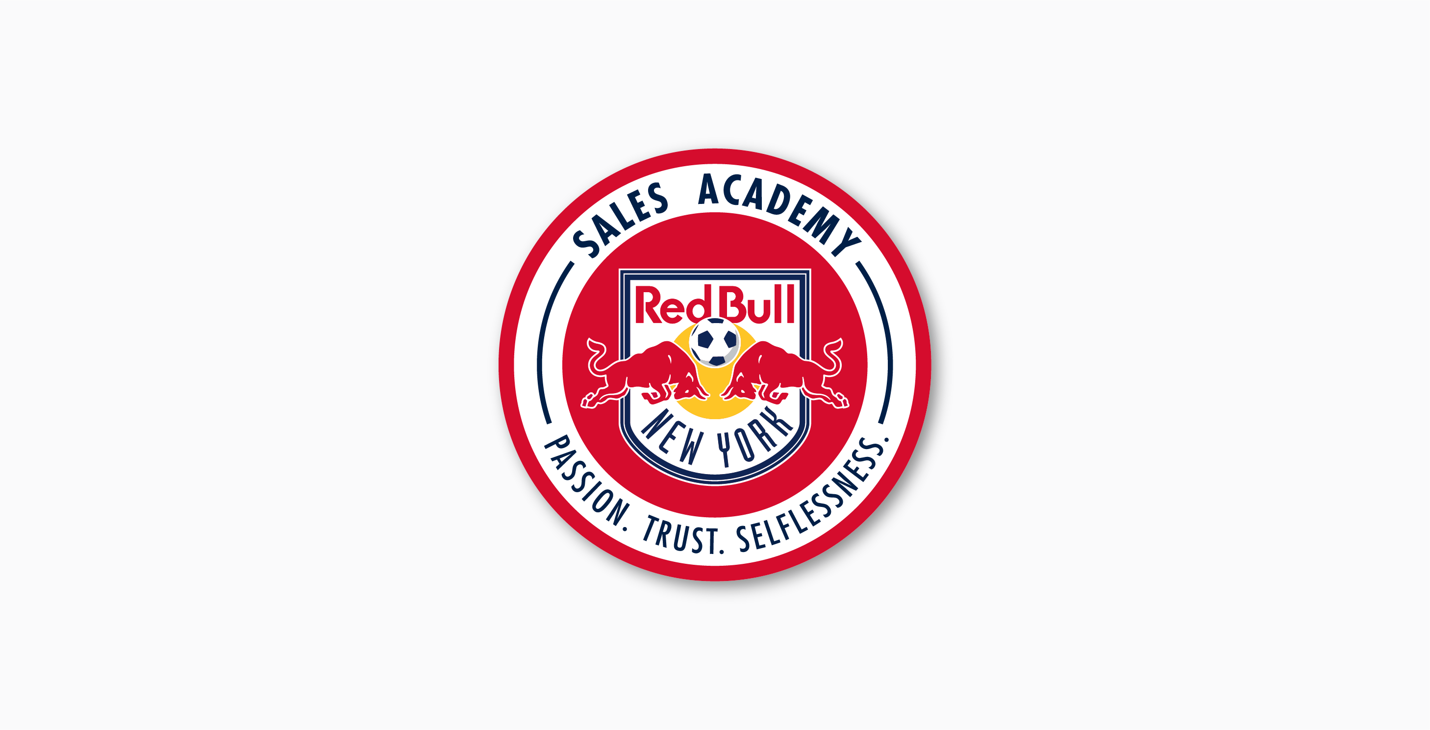 New York Red Bull Sales Academy Logo
