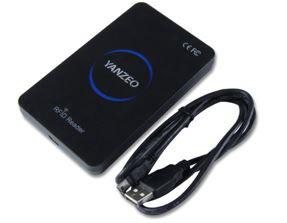 RFID pallet control tag reader
