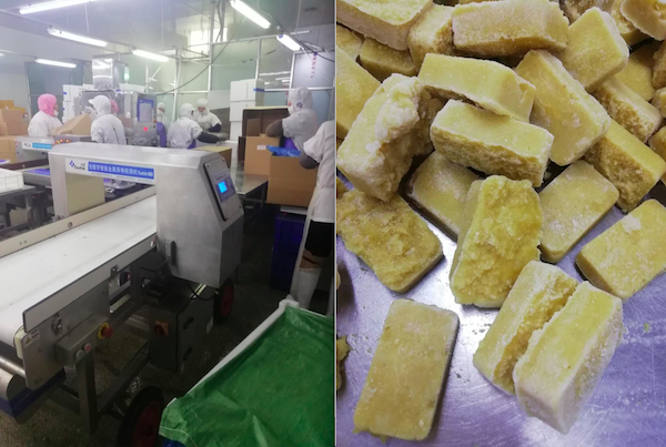 Frozen fresh fruit vegetable IQF processing & quality solution