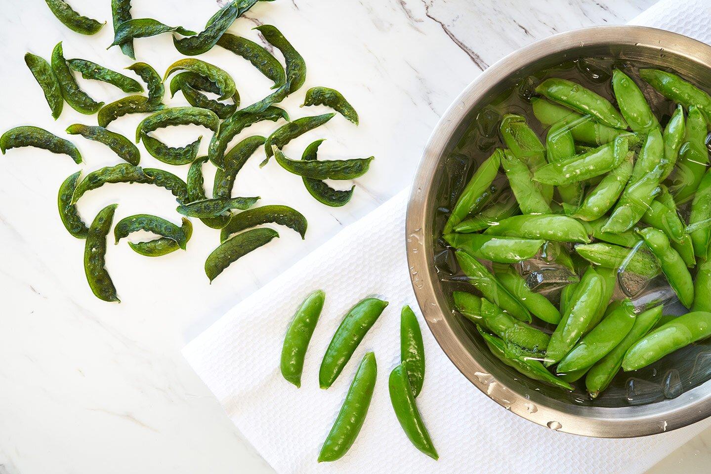 dried sugar snap peas