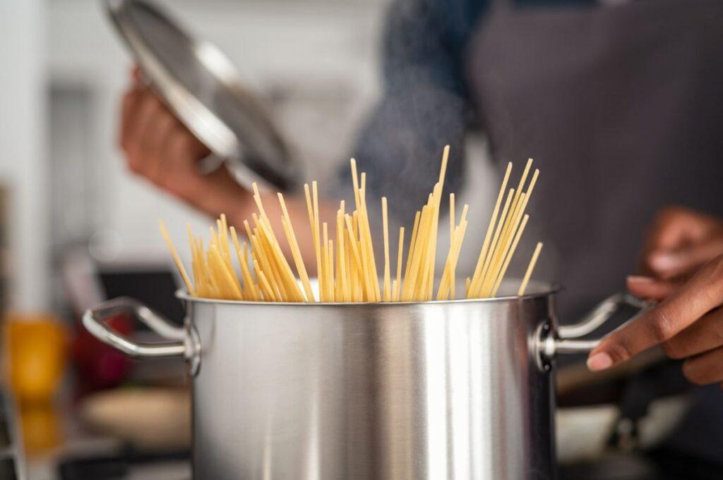 IQF pasta manufacturing