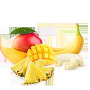 frozen tropical fruit
